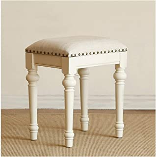 Chair Stool Vintage Retro Dressing Table Stool Padded Chair Makeup Piano Seat (Color : C),Colour:C (Color : B)