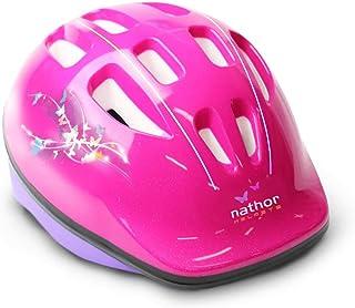 Acessorio Para Bicicleta Capacete Infantil Rosa Nathor Rosa