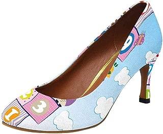 Women's High Heels Dress Pump Shoes