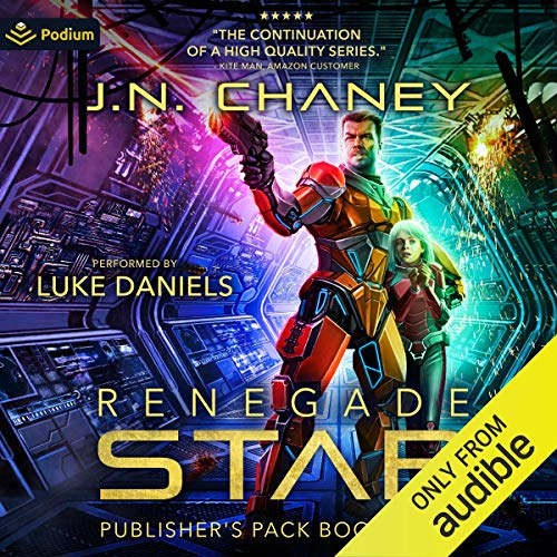 Renegade Star: Publisher's Pack 5 Audiobook By J. N. Chaney cover art