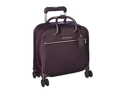 Briggs & Riley Cabin Medium Spinner (Plum) Carry on Luggage
