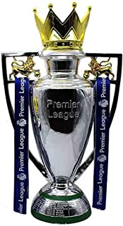 Football Trophy - Souvenir,Electroplating Crafts Model Football Match Cup Soccer Replica Fans of Gift,Premier League Trophy Chelsea Barley Cup