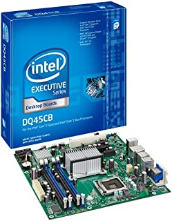 Intel DQ45CB Intel Q45 Socket 775 mATX Motherboard Dual DVI, Audio, eSATA, GbLAN & RAID