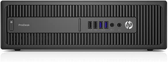 HP Business Desktop ProDesk 600 G2 Desktop Computer - Intel Core i5 (6th Gen) i5-6500 3.20 GHz - 8 GB DDR4 SDRAM - 256 GB SSD (Renewed)