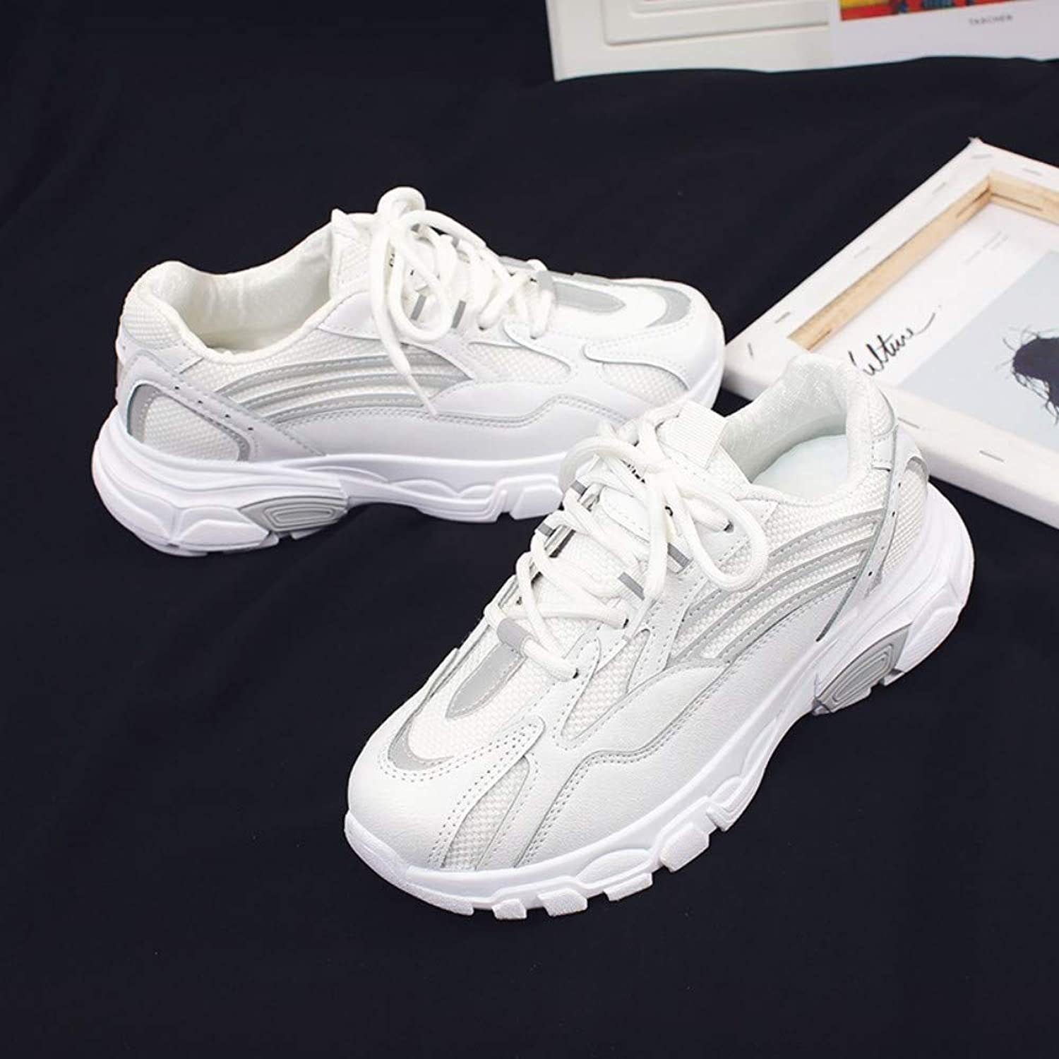 ZHIJINLI Sneakers fitness shoes sneakers running shoes low to help comfortable casual shoes, 37 EU