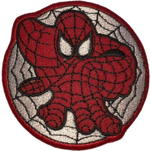 Opname Spider-man Superhero Cartoon Comic Su002 logo voor droog kleding, jack, shirt, cap geborduurd ijzer op patch, verkocht door R.M.A.