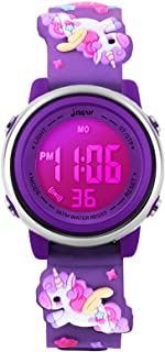 Kids Watches Girl Watches Ages 3-12 Sports Waterproof 3D...