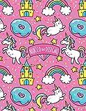 Blocco da Disegno: Unicorno arcobaleno. Un album da disegno per bambini per scrivere, disegnare e dipingere.