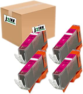 J2INK Compatible Ink Cartridge Replacement for Canon CLI-226 (4 Magenta) 4 Pack CLI226M