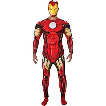 Morphsuits - Disfraz iron man adultos, talla XL (MLZIRX): Amazon ...