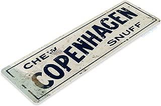 Tinworld TIN Sign A291 Chew Copenhagen Snuff Tobacco Smoke Shop Store Bar Metal Decor