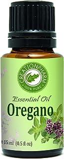 Oregano Essential Oil 15 ml - 100% Pure Premium Turkish Origanum Vulgare - Aceite esencial de orégano - Aromatherapy,Blend...