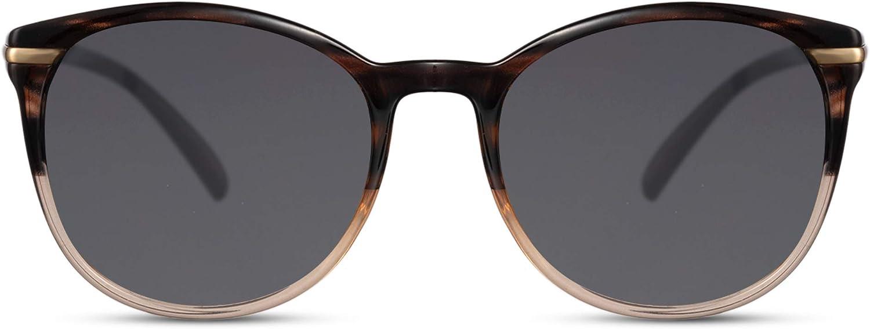 Cheapass Gafas de Sol Redondas Normal Tamaño Clásicas Mujeres Gafas de sol Protección UV400