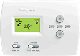 """Honeywell 105841 TH4110D1007 Programmable Thermostat, 3-13/16"""" High x 5-3/8"""" Wide x 1-1/4"""" Deep, Premier White"""