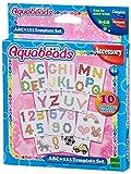 Aquabeads- ABC y 123-Plantilla para Manualidades, Multicolor (Epoch para Imaginar 30518)