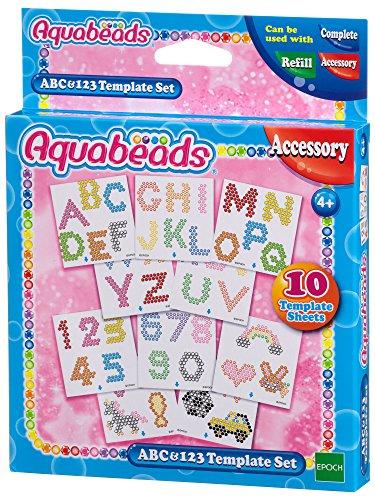 Aquabeads 30518 ABC&123 Vorlage - Bastel Zubehör