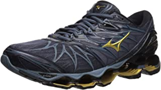 Mizuno Men's Wave Prophecy 7 Running Shoes, black/ombre blue