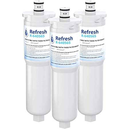 3 Pack Replacement Water Filter for Bosch EVOLFLTR10 Refrigerators