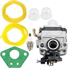 Leopop 753-08045 753-06442 Carburetor for Troy Bilt TB2BP TB2BVEC TB2BPEC MTD RM2BP YM2BP Backpack Blower Parts Fuel Line
