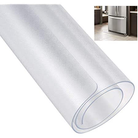[ECO PLUS] 冷蔵庫 マット キズ防止 凹み防止 床保護シート Mサイズ 65×70cm 〜500Lクラス 厚さ2mm 無色 透明 国内正規一年保証