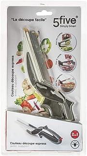 Clever Cutter 2 en 1 cuchillo picador de alimentos y tabla de cortar