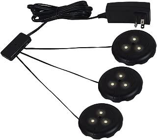Sea Gull Lighting 98863SW-12 Ambiance-LED Disk Light Kit, Black Finish