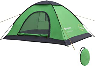 KingCamp Instant Pop Up Camping Tent Easy Set Up in 60 Seconds, Lightweight Portable 2-4 Person Waterproof Automatic Dome Tent with Carrying Bag for Backpacking, Picnic, Hiking, Fishing, Outdoor