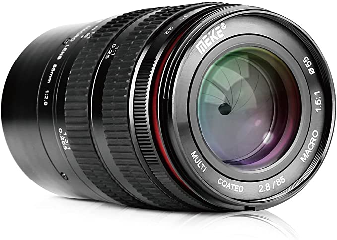 Meike Optics Mk 85mm F2 8 Macro Objektiv Manuelle Fokus Kamera