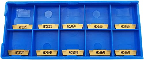 popular 10PCS MGMN200-G NC3020 Indexable outlet online sale Solid Carbide Turning Grooving Insert new arrival Blade For Processing Steel outlet online sale