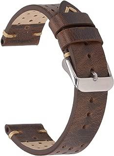 speedmaster brown leather strap