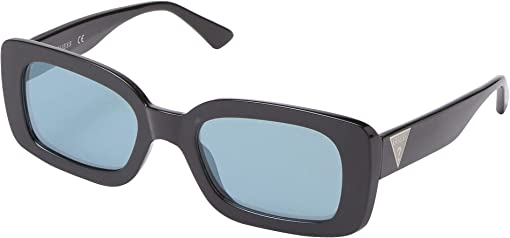 Black Front/Blue Mirror Lens