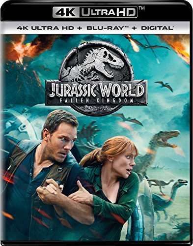 Jurassic World: Fallen Kingdom 4K Ultra HD + Blu-ray + Digital