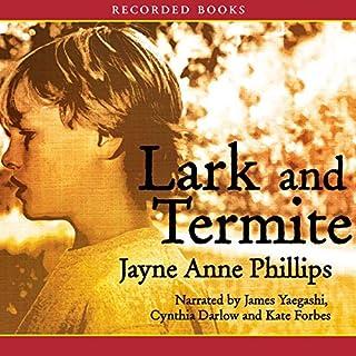 Lark and Termite audiobook cover art