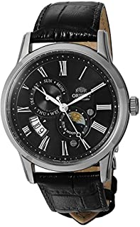 Orient Men's 'Sun and Moon Version 3' Japanese Automatic/Hand-Winding Watch with Sapphire Crystal