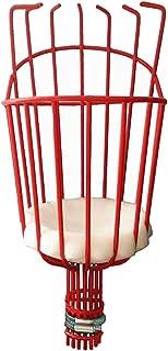 Baoblaze Fruit Picker Harvest Basket, Fruit Harvester Attachment for Harvesting Fruit Deep Basket - Red