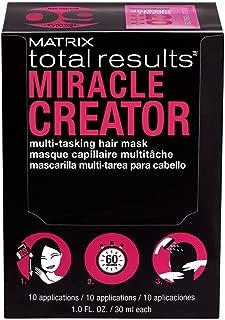 Matrix Total Results Miracle Creator Multi-Tasking Hair Mask, Box of 10