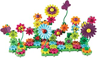 Learning Resources Gears! Gears! Gears! Build & Bloom Building Set, STEM Learning Toy, 117 Pieces,  Ages 4+