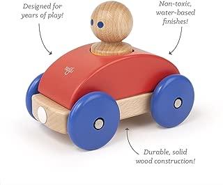 3 Piece Tegu Magnetic Racer Building Block Set, Poppy Big Top