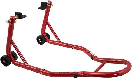 A-Pro Moto Ruota Anteriore altalena Chock supporto per montaggio rosso posteriore moto Halteb uegel