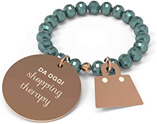 10 Buoni Propositi Anello Donna Shopping Therapy Collezione Crystal Rose Gold