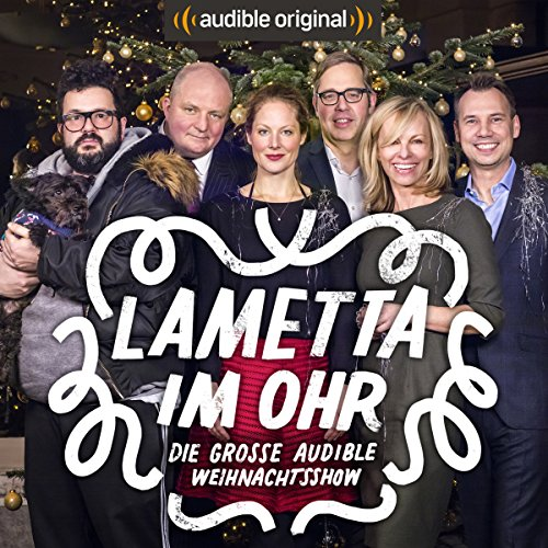 Lametta im Ohr audiobook cover art