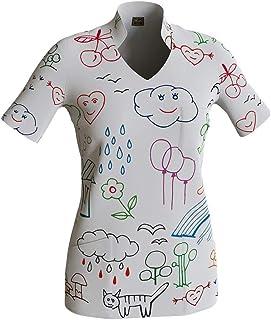 Uniforme Sanitario Mujer Ropa Trabajo Pijama Medico Casaca Enfermera Estetica Peluqueria Veterinaria Hospital Limpieza y E...