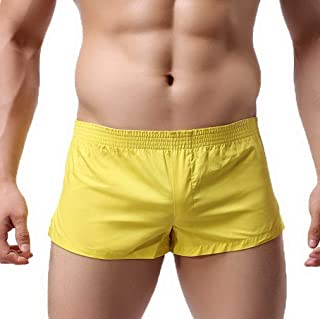 HaiDean Men's Men's Men's Leisure Modern Short Casual Pants Pants Beach Pants Retro Shorts Boxer Shorts Swimwear Swimwear