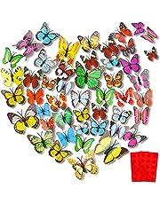 Mariposas Decorativas 3d,Pegatinas Pared Decorativas Mariposas, Mariposas Pegatinas Pared Decoracion Pared,Pegatinas Decorativas Habitacion,Dormitorio,Espejos,Autoadhesivo
