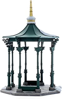 Department 56 Heritage Village Collection ; Christmas in the City Town Square Gazebo ; Handpainted Porcelain Accessories #5513-1