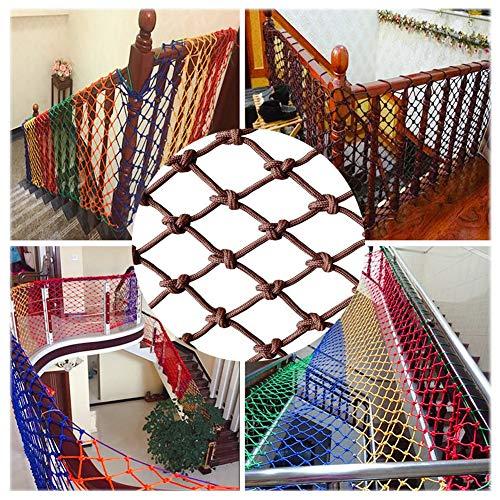 BZPOVB Dekoratives Netz Kindersicherheitsnetz-Sprung-Trampolin-Sicherheitsnetz-Geflügelschutznetz-Kinder-Bruchsicheres Sicherheitsnetz (Size : 2 * 9M)