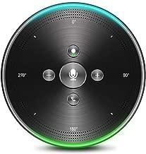 AI Voice-to-Text Speakerphone- eMeet Note N1 Smart WiFi/Bluetooth Speakerphone Conference Speaker Role-Based & Directional Recording 4 omnidirectional Microphones 360° Voice Pickup, skype Speakerphone