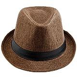 Shanxing - Sombrero de Vestir - para Hombre Marrón marrón