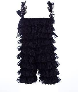 black lace romper baby
