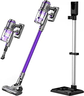 Hosome Cordless Vacuum Cleaner 25000Pa Powerful Suction Stick Vacuum with Digital Display & Mounting Bracket, Up to 42 Min...
